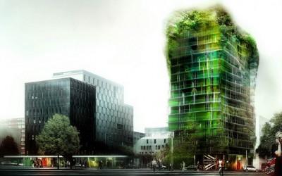 Maintenant, les forêts poussent… sur les immeubles