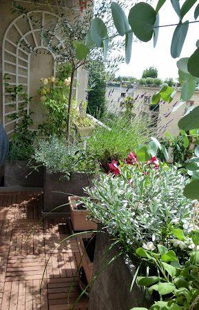 Neuilly – Petite terrasse d'entreprise