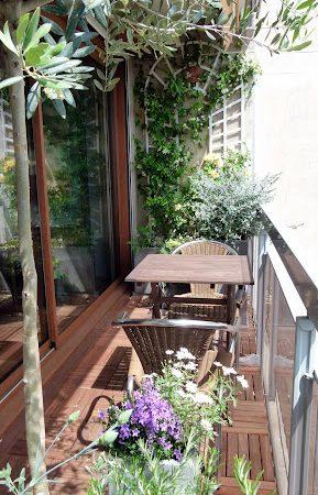 Neuilly - Petite terrasse d'entreprise