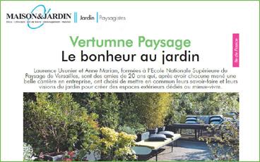 Lu dans la presse : «Le bonheur au jardin»